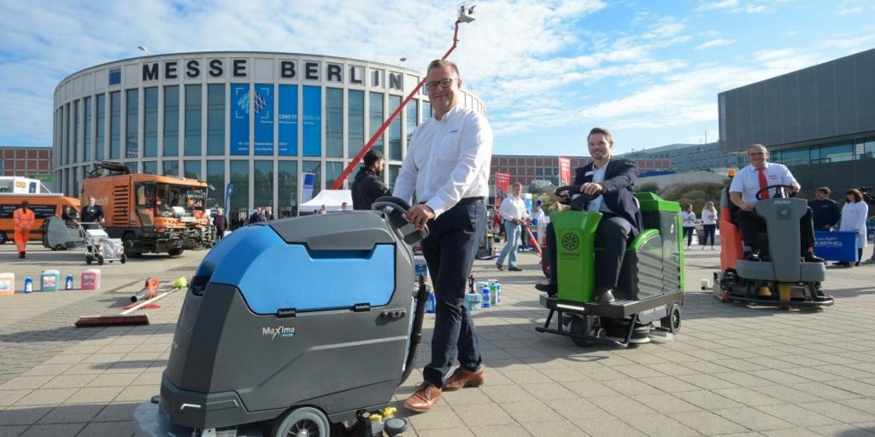 Das Who's Who beim Reinigungsgipfel in Berlin