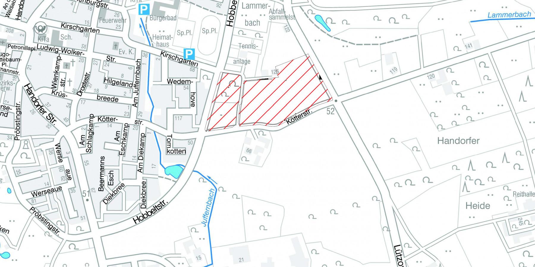 Stadt erwirbt Bauland in Handorf