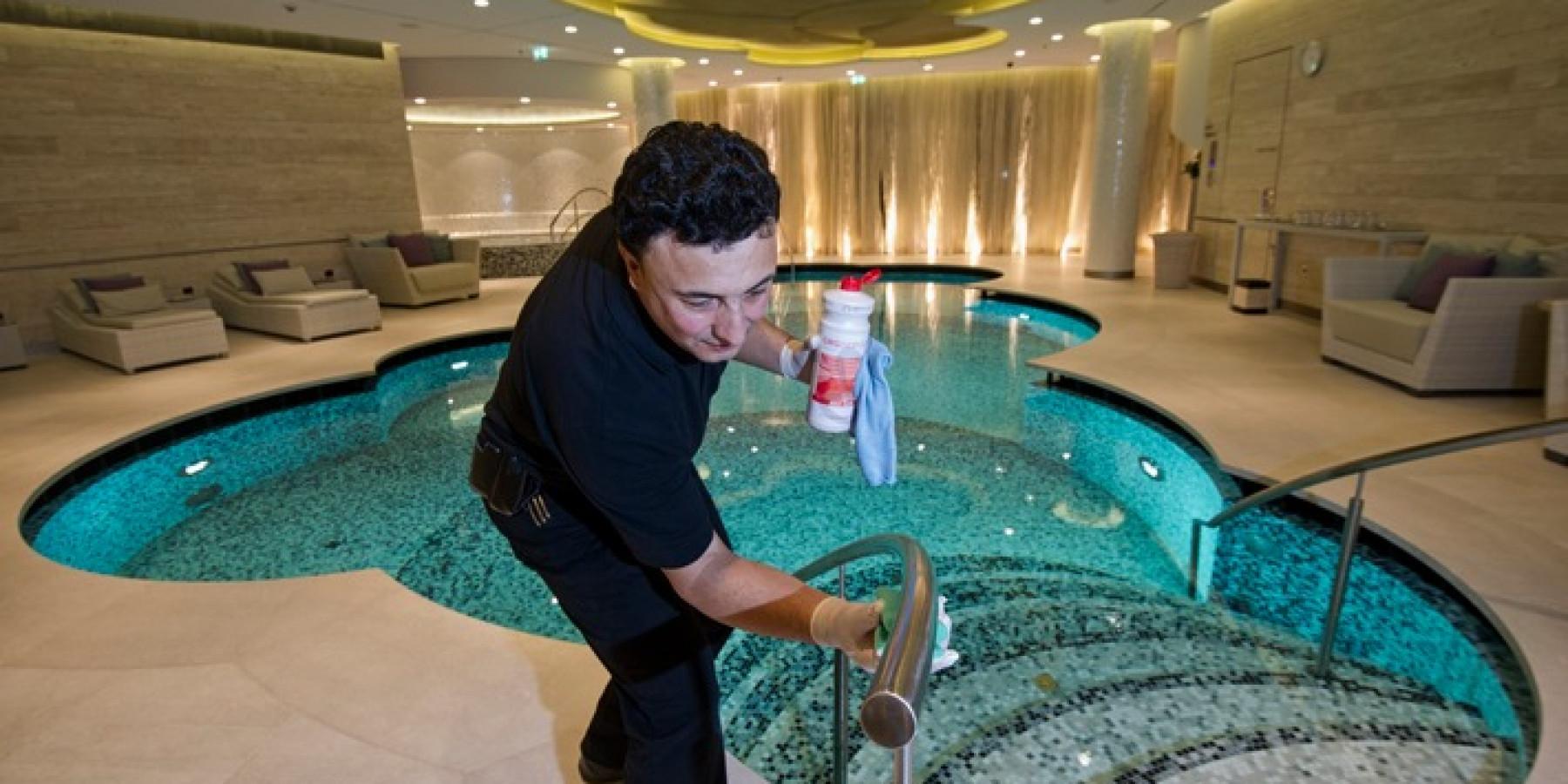 Sauberkeit ist entscheidend für das Wohlbefinden der Gäste