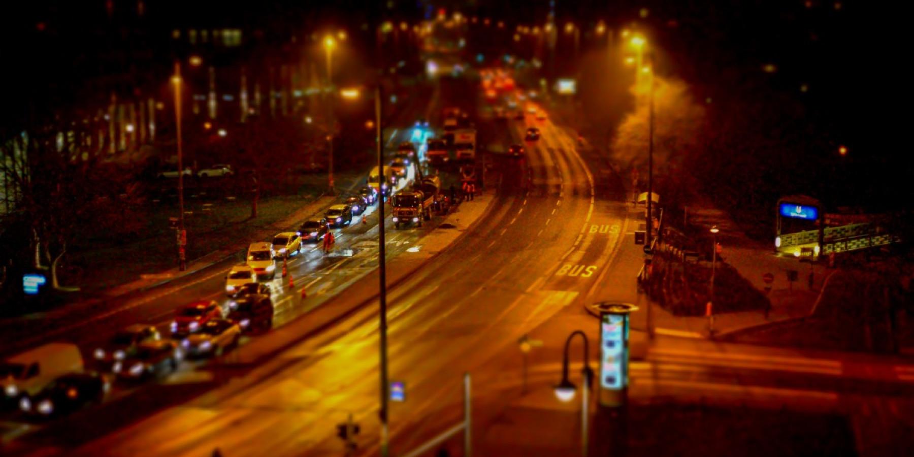 Straßenbauarbeiten in den Ferien: Weniger Beeinträchtigungen durch Nachtarbeit