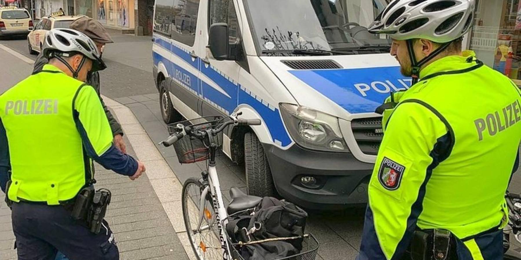 Polizisten kontrollieren Geschwindigkeit an der Wolbecker Straße – 17 Anzeigen in zwei Stunden