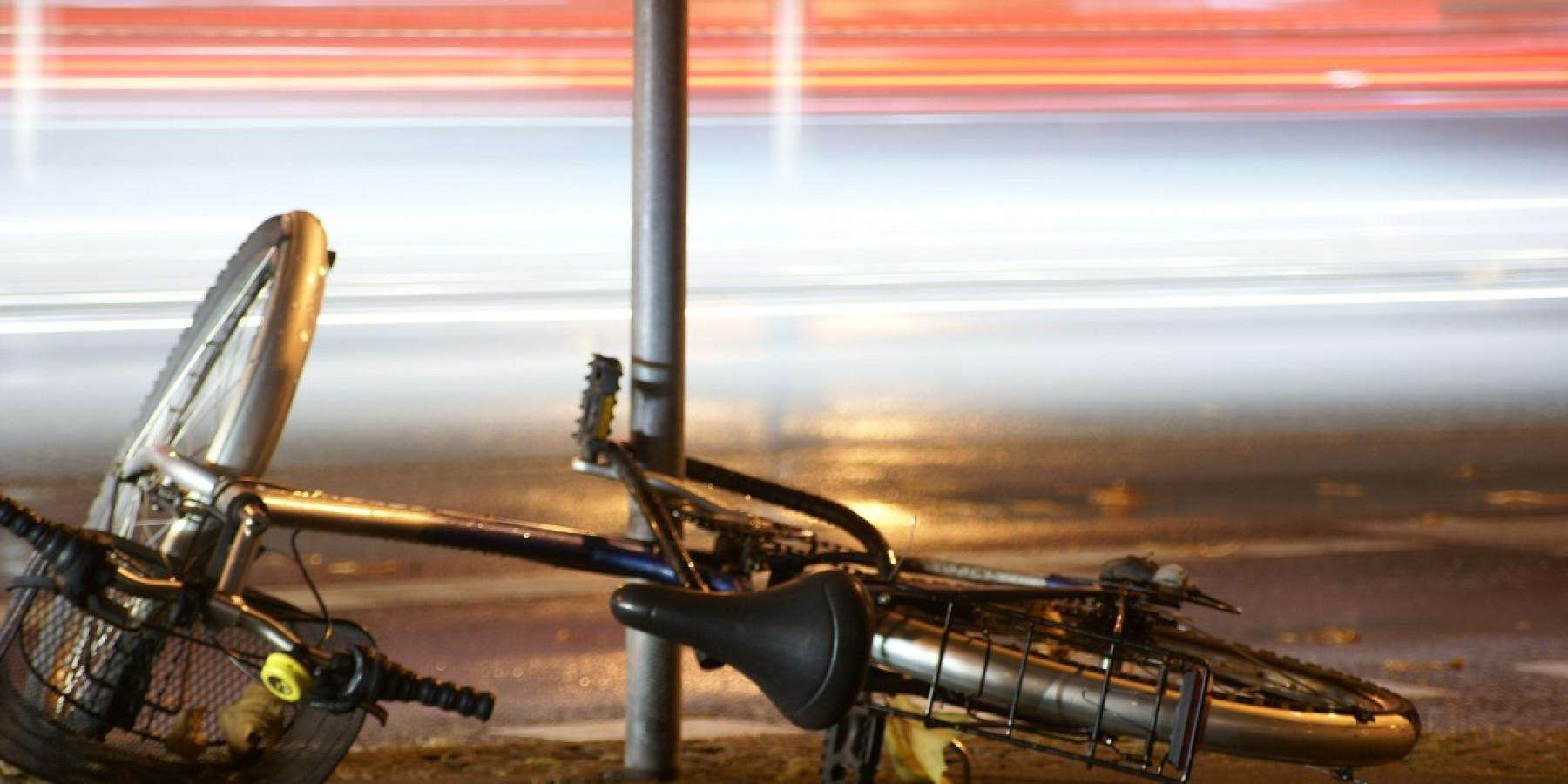 Radfahrer touchiert