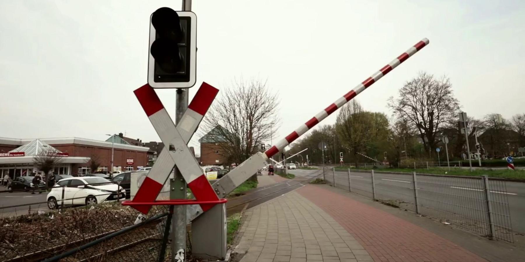 Warendorfer Straße stadteinwärts gesperrt