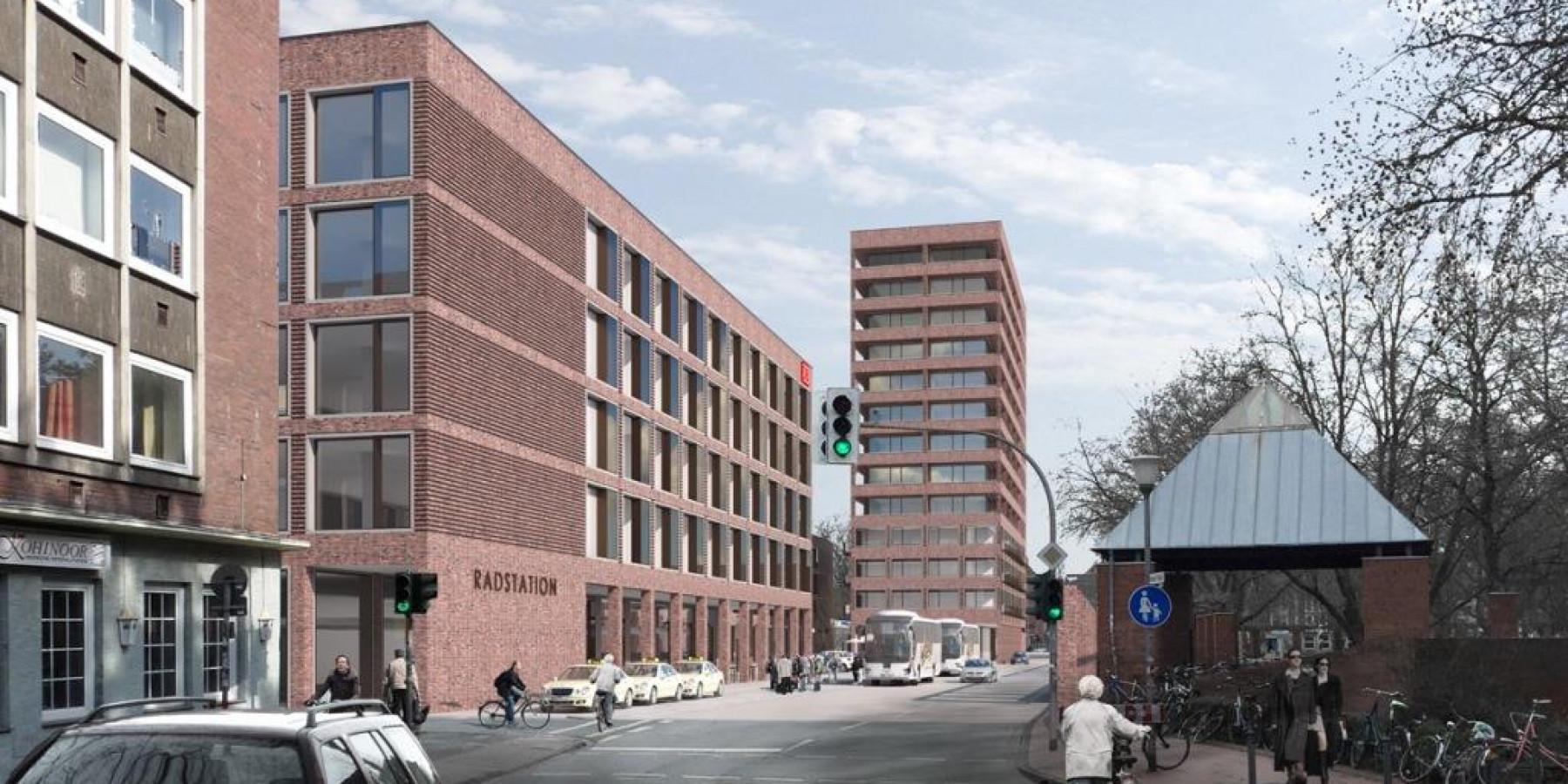 Neugestaltung Bremer Platz: Erste Konzepte und Skizzen