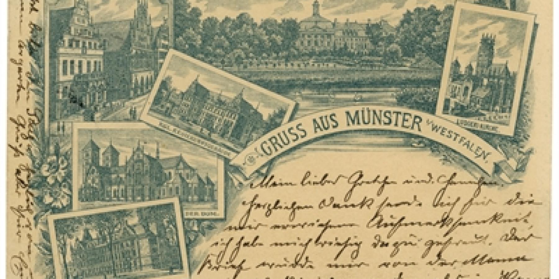 Vom Siegeszug der Postkarte