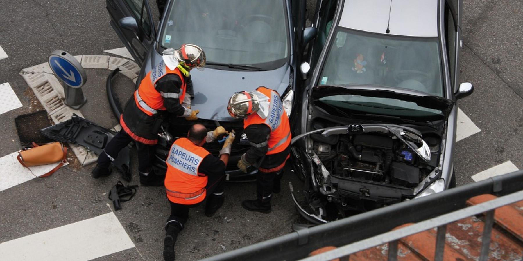 Verkehrsunfall mit vier Verletzten