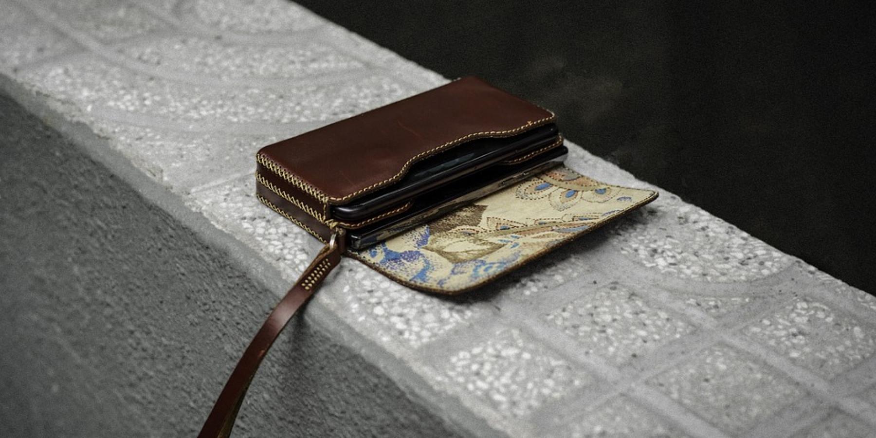 Diebe stehlen Geldbörse aus Tasche an Kinderwagen