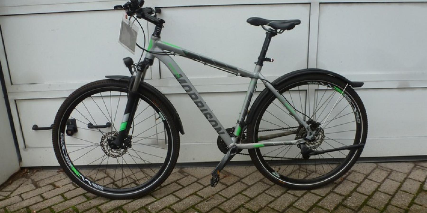 Fahrrad mit manipulierter Rahmennummer gekauft