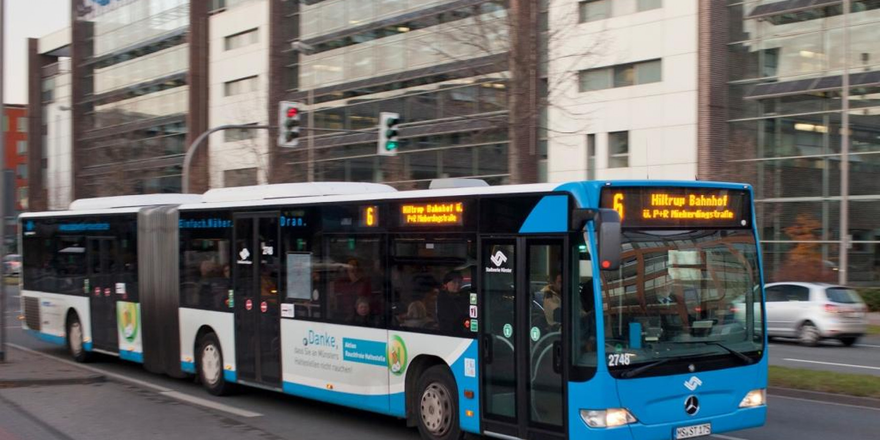 Überfall in Bus – 16-jähriger Täter in Haft