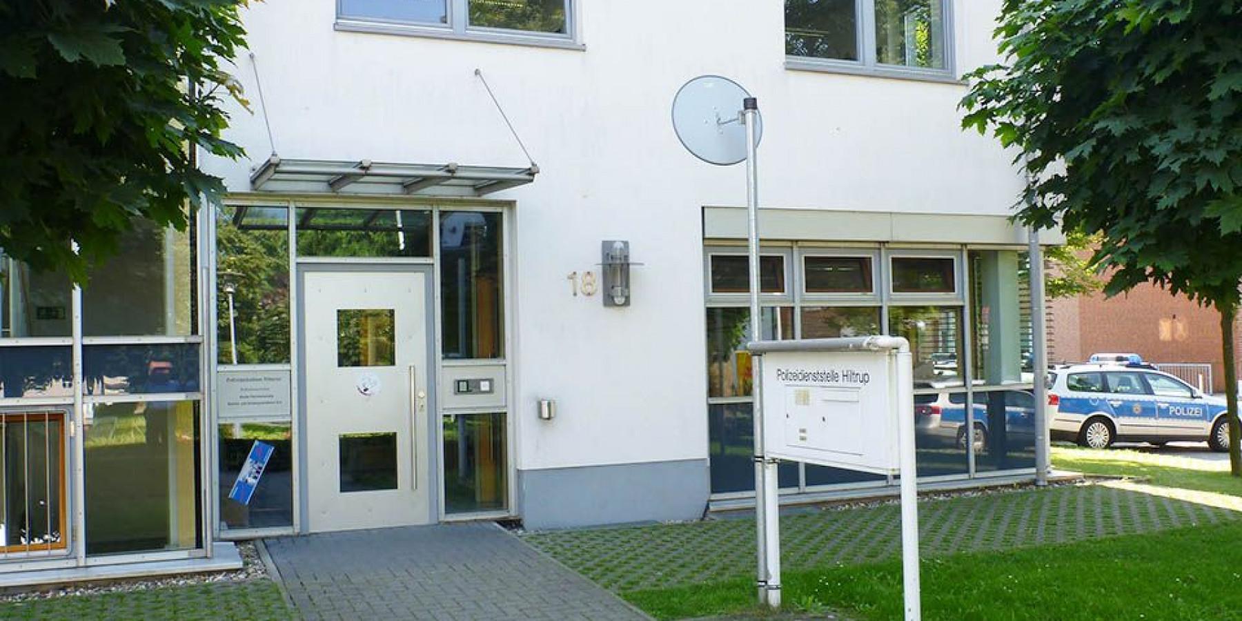 Polizeiwache Hiltrup wird renoviert