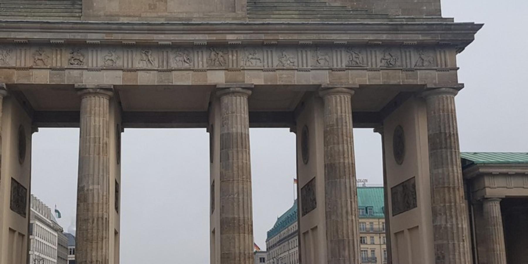 Münsteraner Polizisten in Berlin bei der G20 Afrika-Konferenz