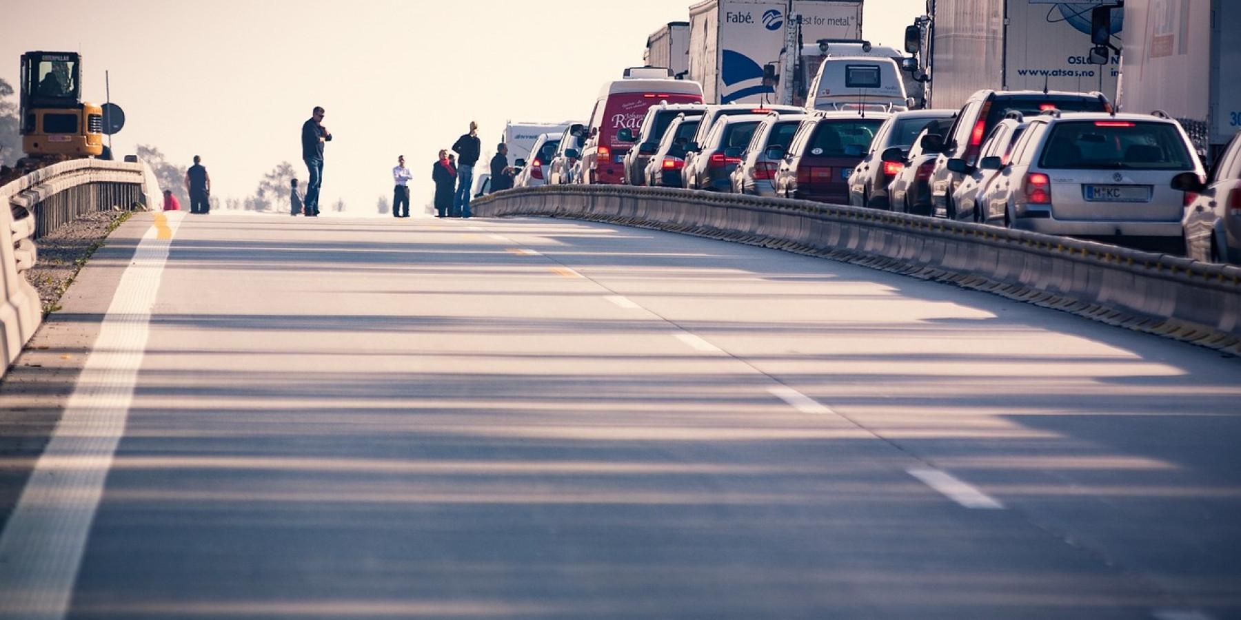 Unfall auf der Autobahn – 2 Schwerverletzte