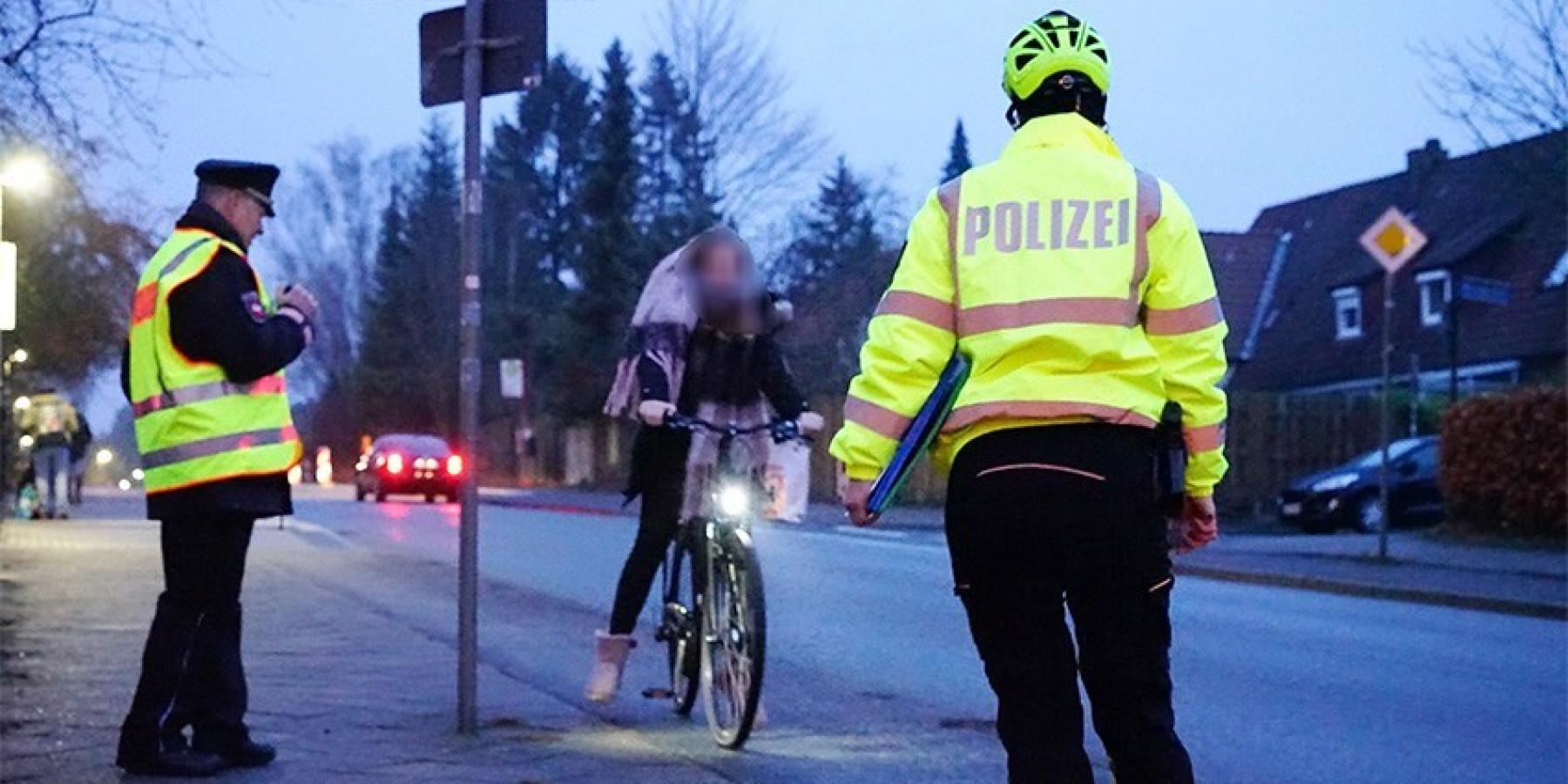 Schwerpunktaktion zur Verbesserung der Verkehrssicherheit von Radfahrern