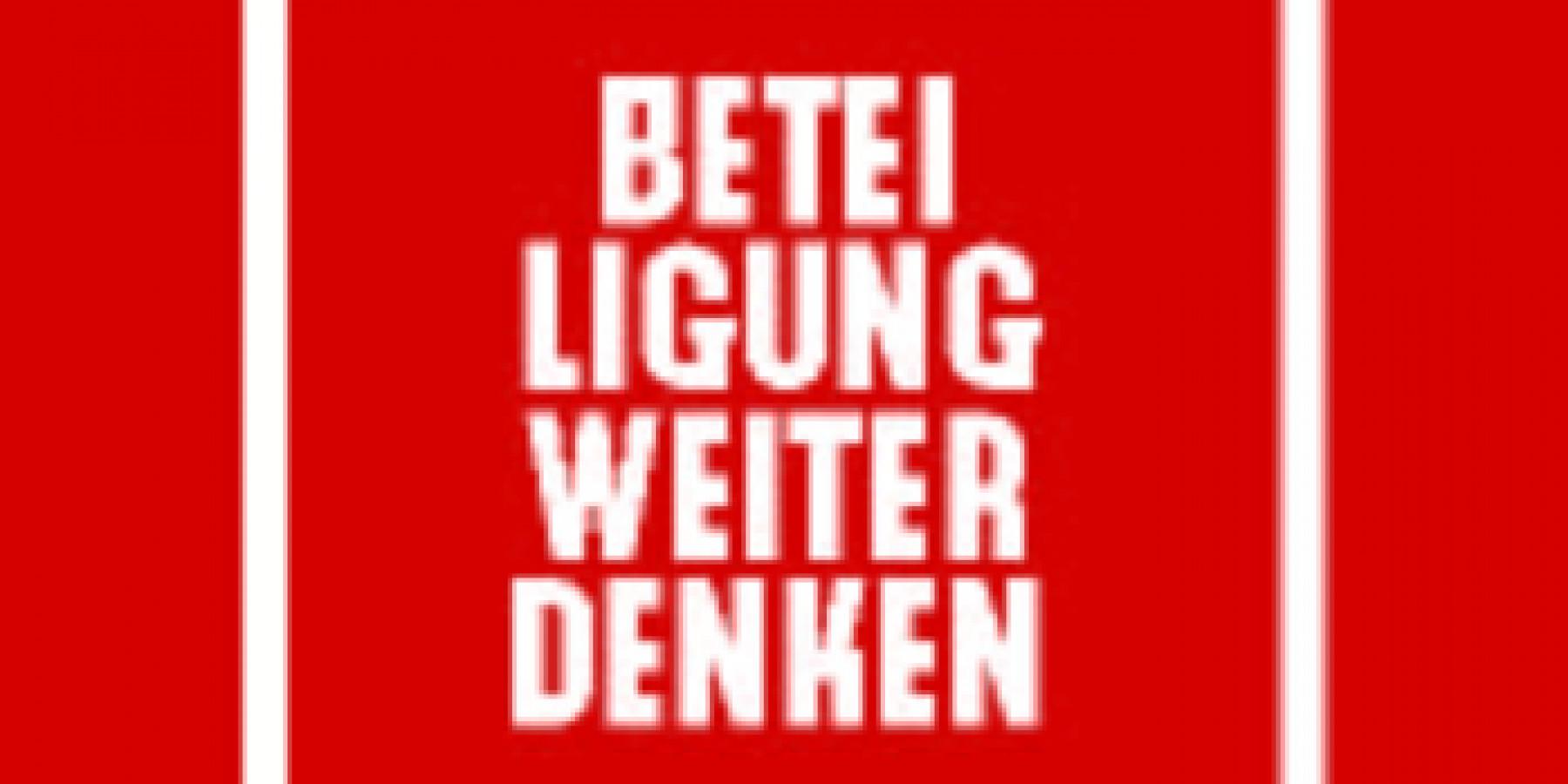 """Stadtforum """"Beteiligung weiter denken"""""""
