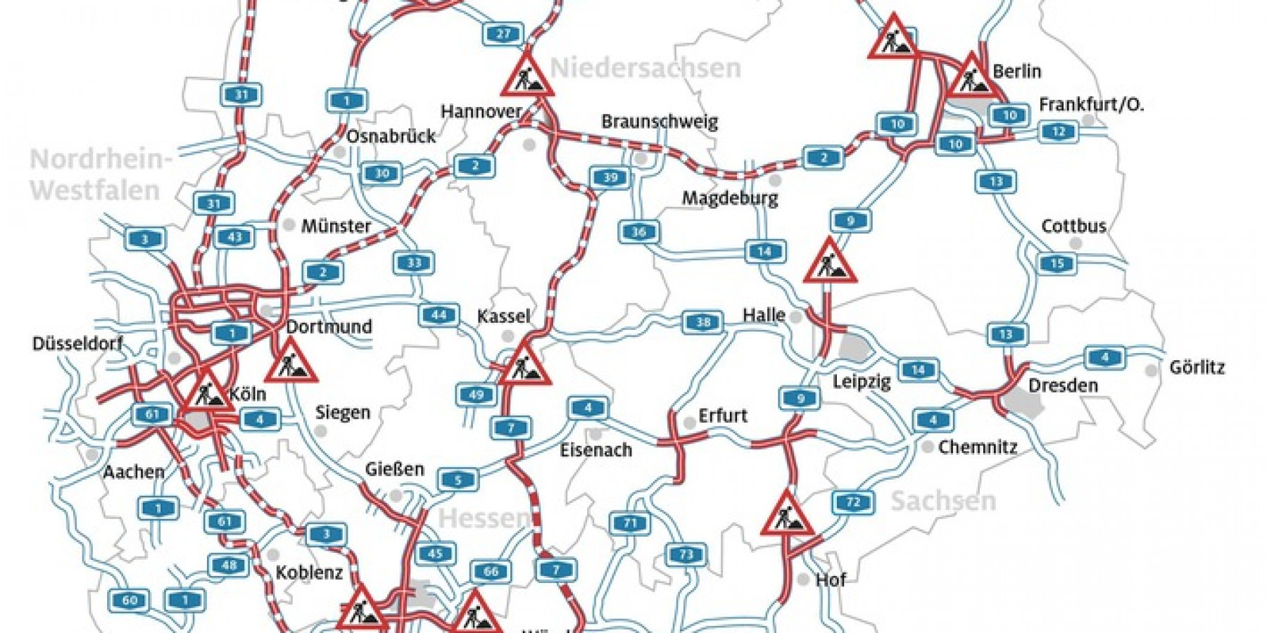 Sommerferien-Start in fünf Bundesländern