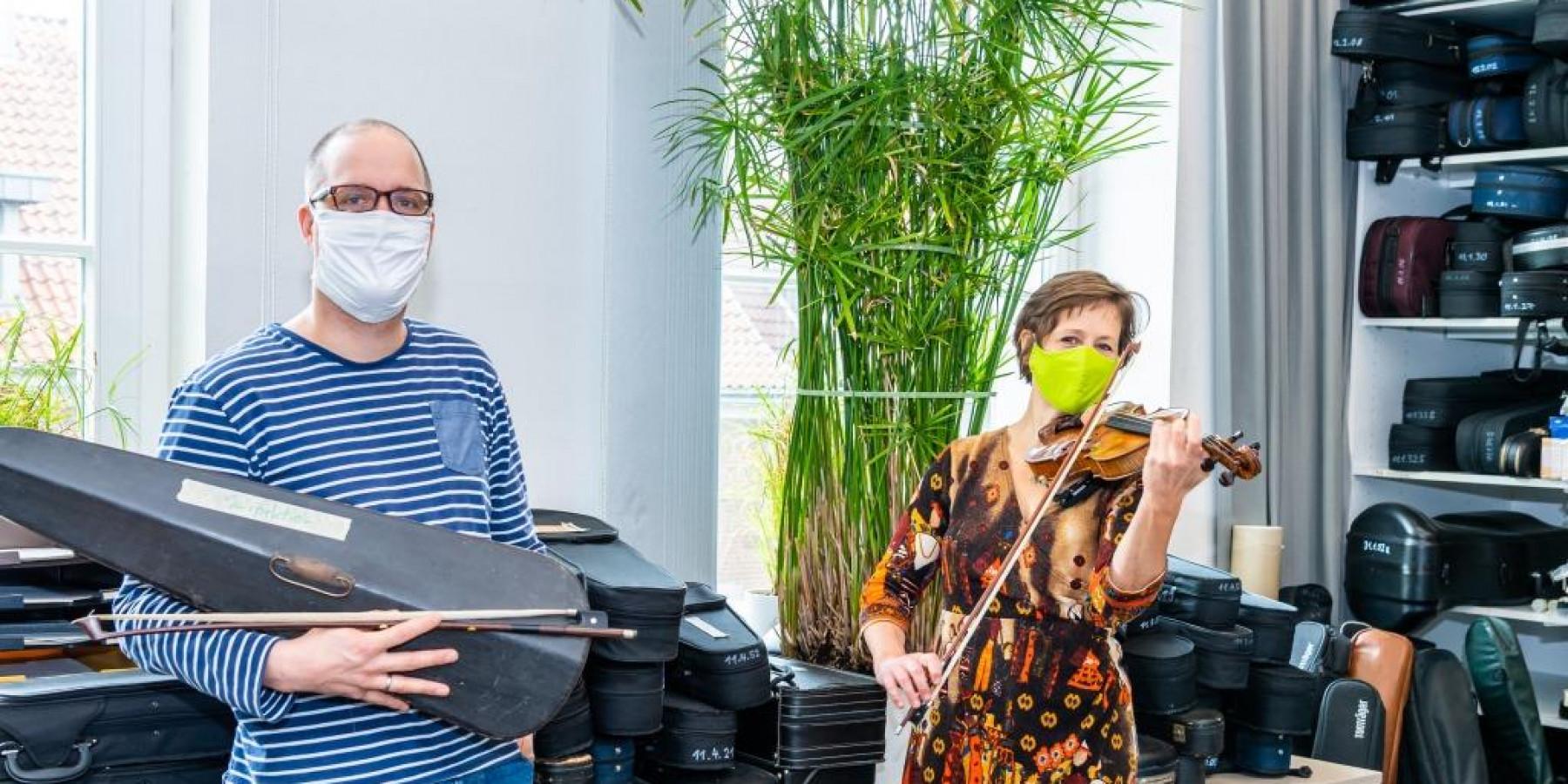 Wertvolle Geige lag  30 Jahre im Dornröschenschlaf