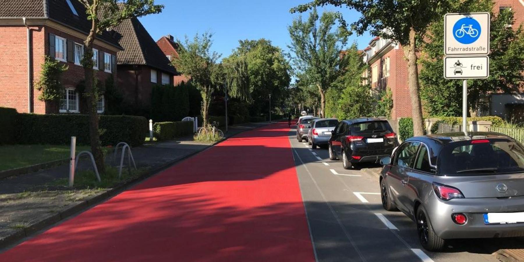 Münster baut für Radfahrerinnen und Radfahrer