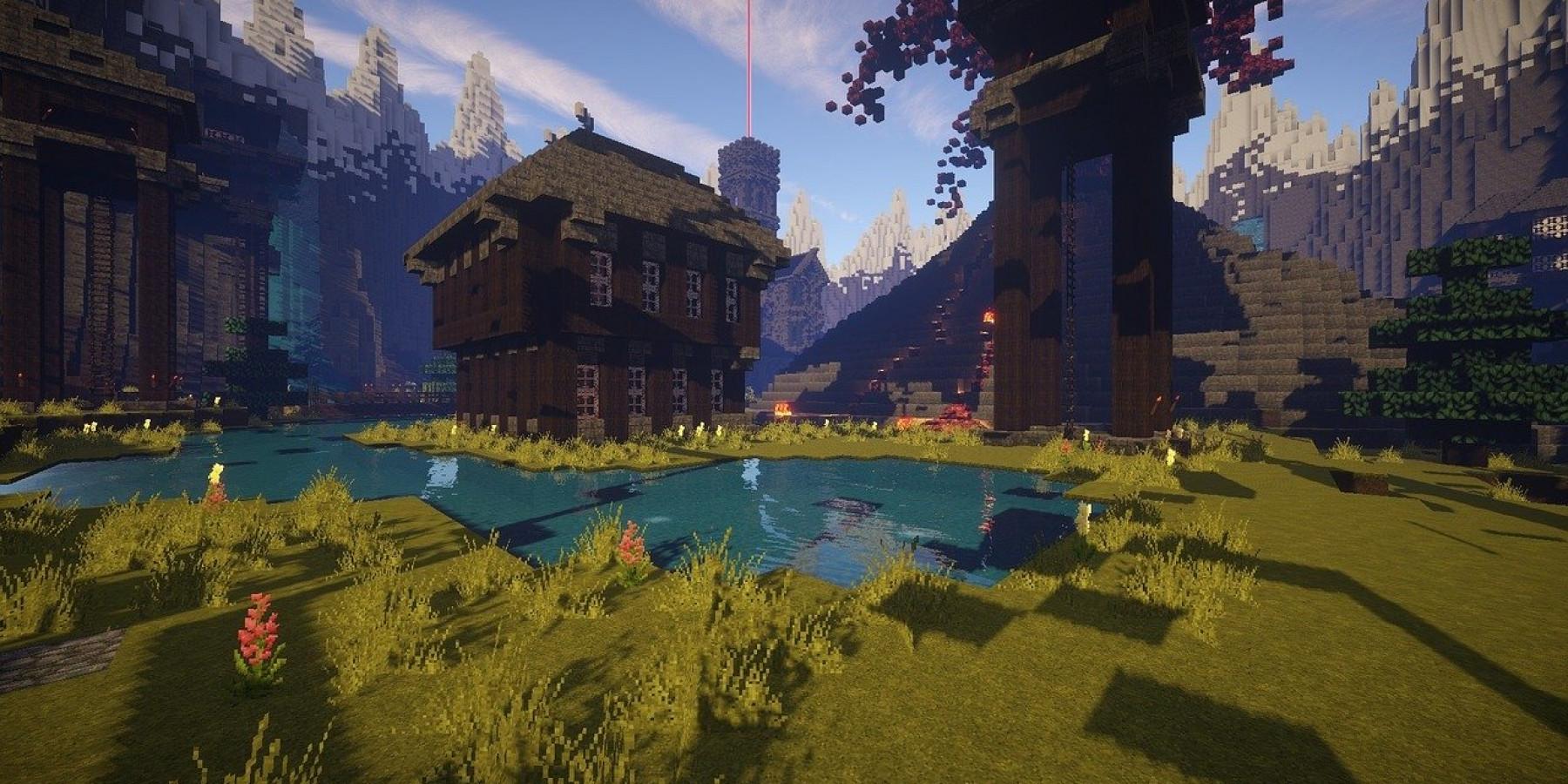 """Minecraft-Bauwettbewerb in der Bücherei: """"Ferien in Buchfelde"""""""