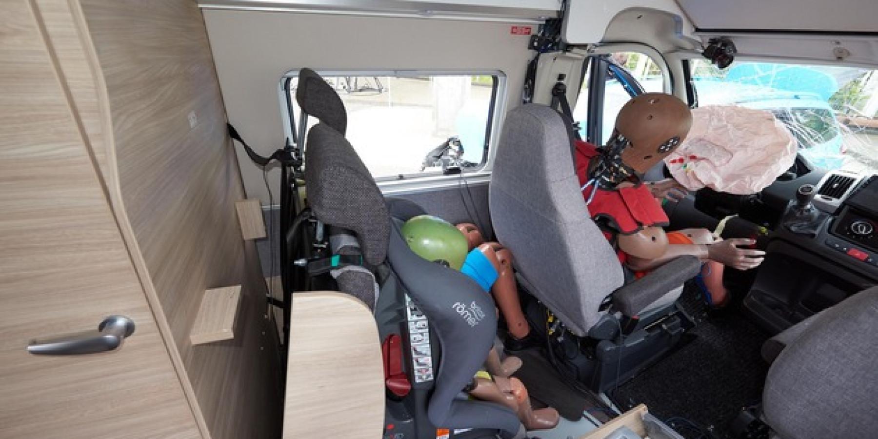 Wie sicher ist ein umgebauter Kastenwagen für die Insassen